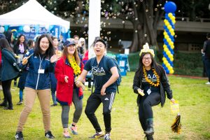 UCI Homecoming - students